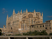 Cathedral de Mallorca in Palma